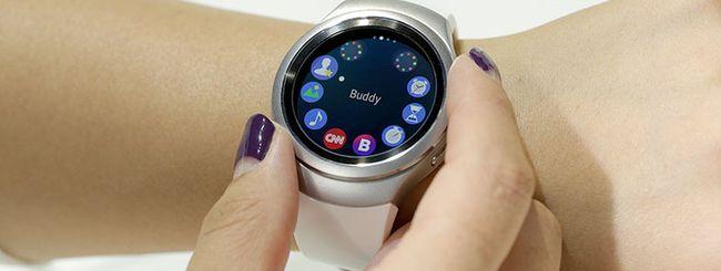 Samsung rilascia un aggiornamento per il Gear S2