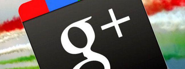 Gli utenti italiani su Google+ sono 250 mila