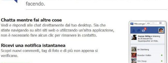 Facebook Messenger per Windows disponibile per il download