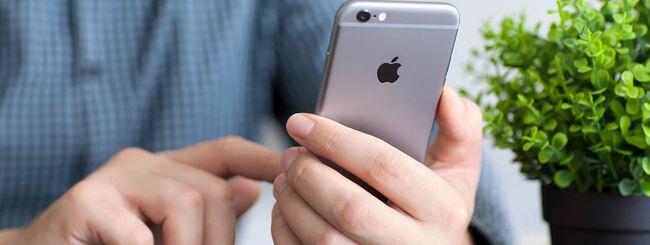 iPhone 6, alluminio