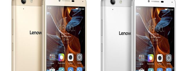 MWC 2016: Lenovo Vibe K5 e K5 Plus
