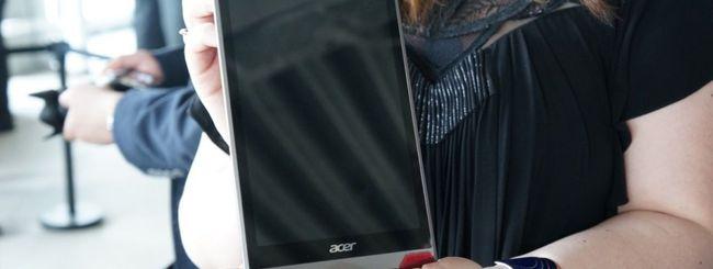 Due tablet Iconia e un Predator da Acer