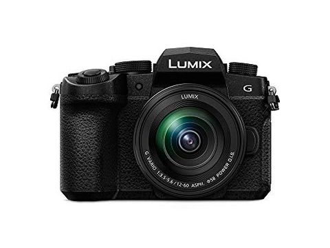 Panasonic LUMIX DC-G90MEB-K - Fotocamera compatta con obiettivo 12-60 mm, colore: Nero