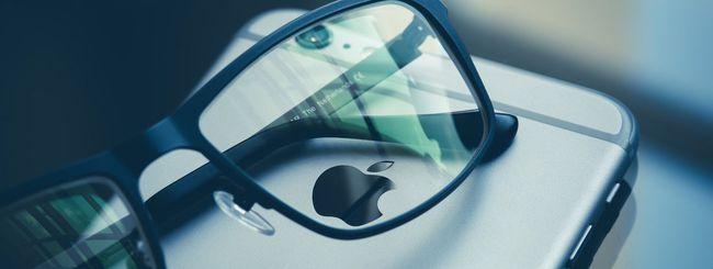 Apple testa occhiali per la realtà aumentata