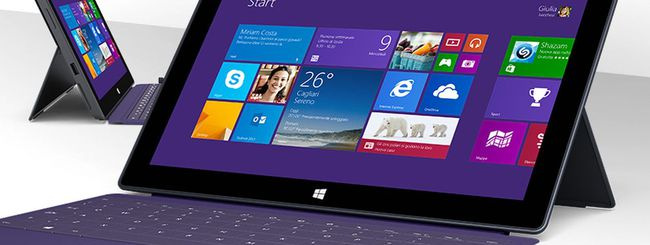 Microsoft, nuovi firmware per i tablet pc Surface