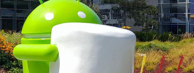 Frammentazione Android: Marshmallow allo 0,5%
