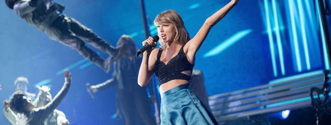 Taylor Swift dice sì ad Apple Music per l'album 1989
