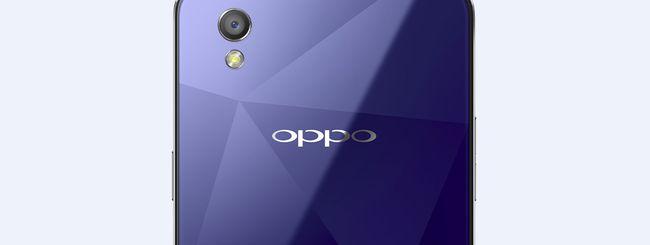 Oppo Mirror 5, uno smartphone scintillante