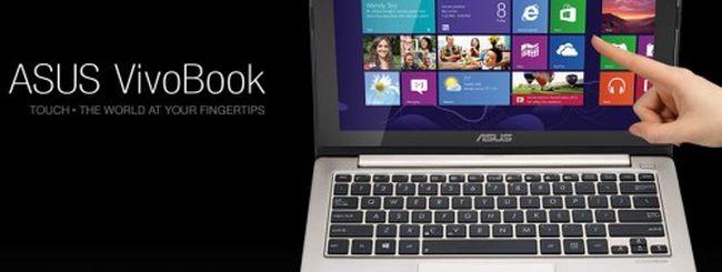 ASUS, nuovi Zenbook e VivoBook con Windows 8