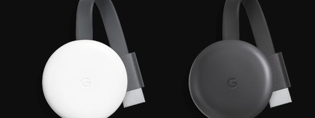 Il nuovo Google Chromecast in vendita in Italia