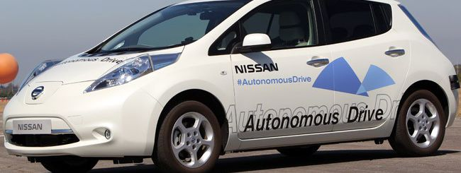 Nissan, un'auto senza pilota entro il 2020