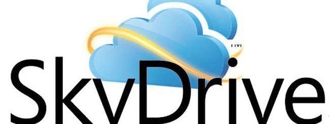 SkyDrive, l'integrazione con Windows 8