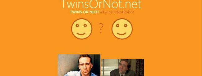 TwinsOrNot.net, Microsoft trova i nostri gemelli