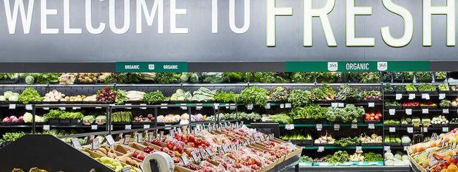 Spesa online con Amazon Fresh: consegna in giornata