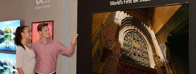 IFA 2018: LG lancia la prima TV 8K OLED