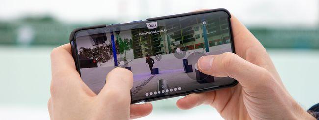 OnePlus: iniziata la battaglia di neve tramite 5G