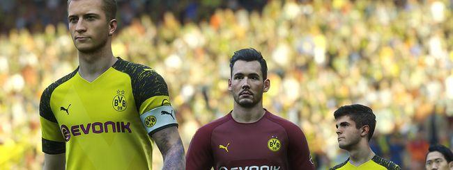 E3 2018: PES 2019 sfida FIFA 19 con un trailer