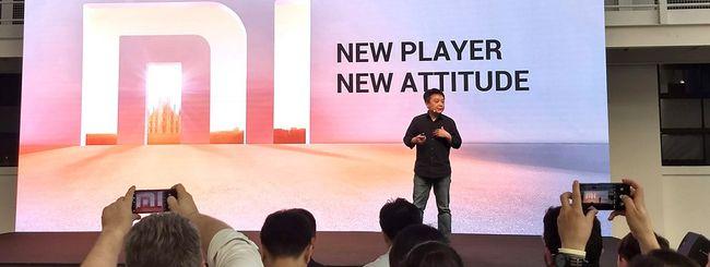 Xiaomi arriva in Italia