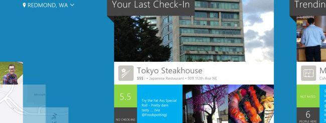 Foursquare per Windows 8 disponibile sul Windows Store