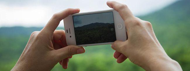 Fotografare con iPhone