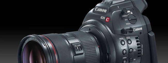 Canon, arriva una videocamera 4K a obiettivo fisso