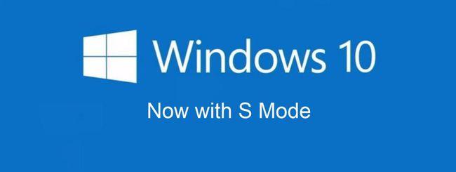 Microsoft conferma S Mode per Windows 10 dal 2019