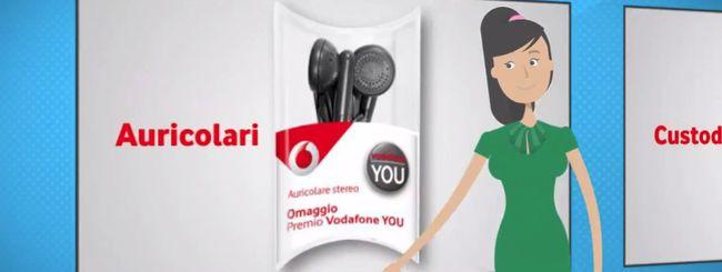 Vodafone You ad ottobre regala accessori