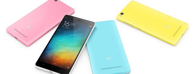 Xiaomi Mi 4i, smartphone economico e colorato