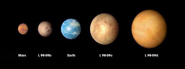 "Scoperti tre pianeti ""alieni"" simili alla Terra"