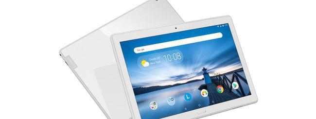 Lenovo annuncia 5 tablet Android per la famiglia