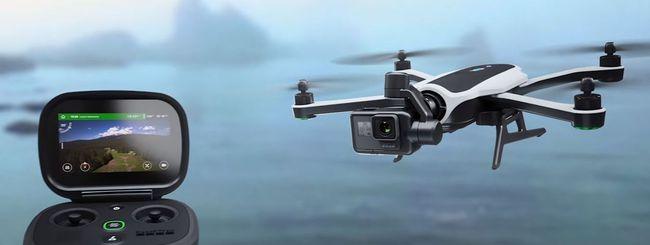 GoPro Karma, drone con bracci ripiegabili