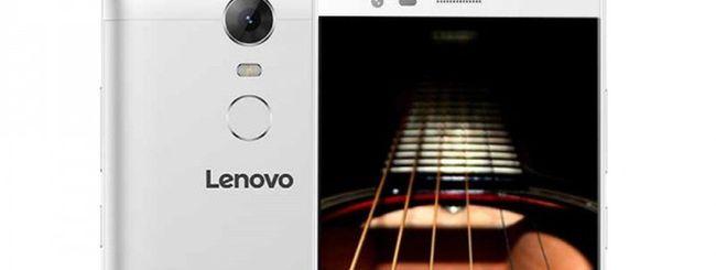 Lenovo K5 Note, grande batteria e basso prezzo