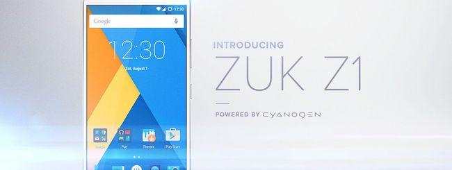 ZUK Z1, nuovo smartphone con Cyanogen OS 12