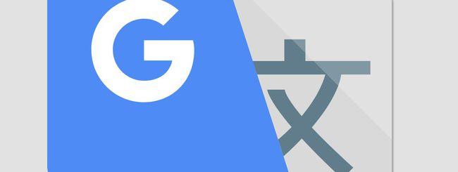 Google Traduttore, trascrizione in tempo reale