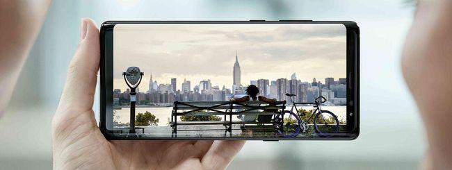 Samsung Galaxy Note 8, design e Infinity Display