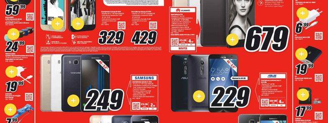 Volantino MediaWorld, Samsung Galaxy Tab S3 a 799€