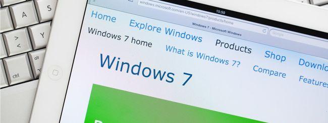 Windows 7, Microsoft rilascerà un nuovo fix