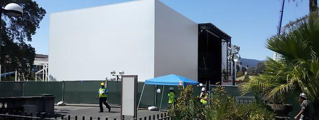 iPhone 6: misterioso edificio per l'evento Apple