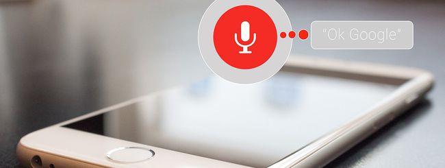 Assistant, basta registrazioni audio di default