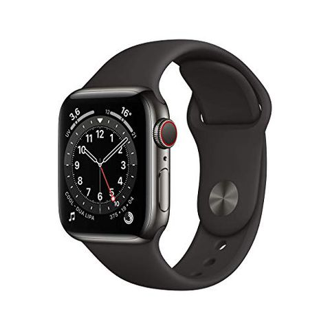Apple Watch Series 6 (GPS + Cellular, 40 mm) Cassa in acciaio inossidabile color grafite