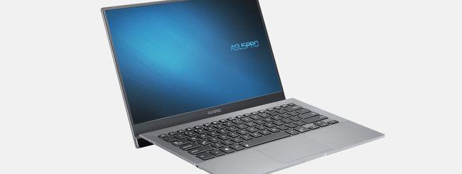 ASUS: nuova gamma di notebook professionali