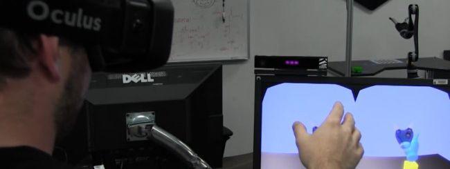 Kinect 2 per controllare un robot della NASA