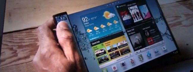 Samsung, video concept per i device del futuro