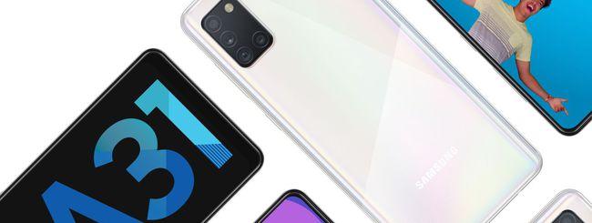 Samsung annuncia il Galaxy A31