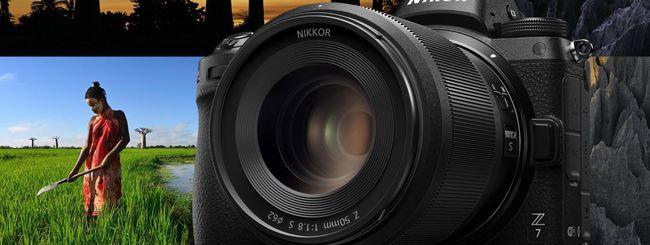 Nikon Z7 e Z6, fotocamere mirrorless full frame