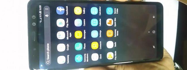 Samsung Galaxy A8+ (2018), specifiche confermate