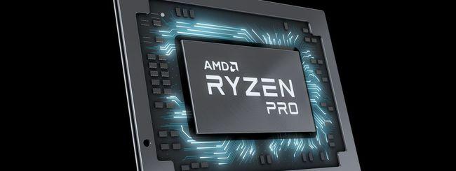 AMD Ryzen Pro Mobile, CPU per notebook aziendali