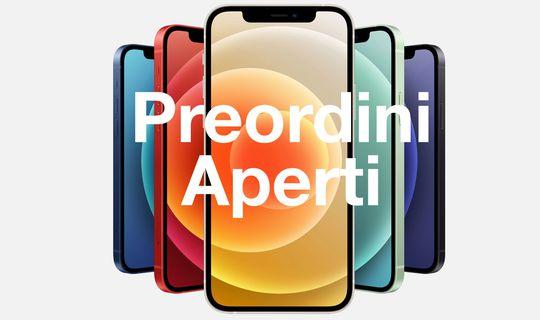 iPhone 12: i preordini sono aperti (anche su Amazon e a rate)