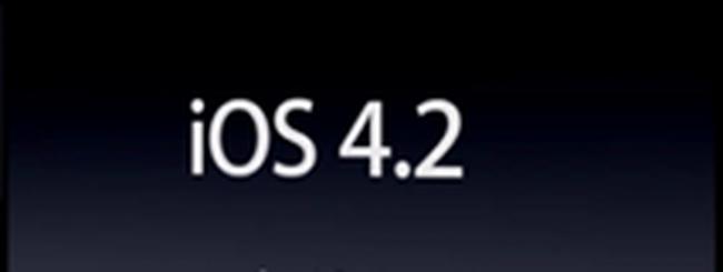 iOS 4.2 molto vicino: domani o il 12 novembre?
