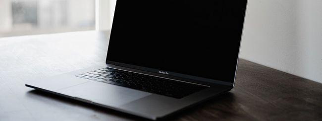 MacBook Pro 16: chip Intel Coffee Lake Core i9